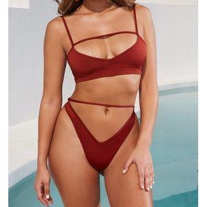 Oh Polly Cross Your Heart Bikini